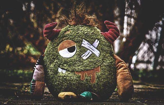 Findest Du auch manchmal ein Monster unter Deinem Bett?